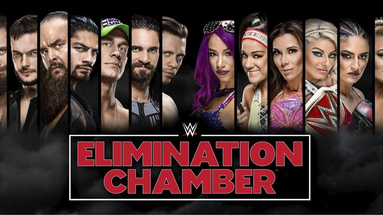 Elimination Chamber is live on Sky Sports Box Office on February 25