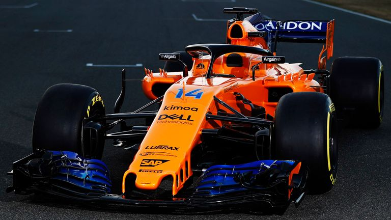 f1 in 2018: mclaren reveal new car and new look | f1 news
