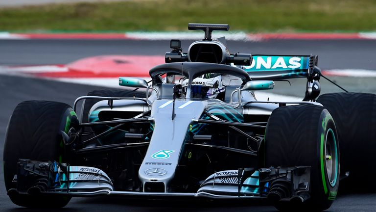 F1 2018 Testing Mercedes Fastest In Morning Session Of Day Two F1