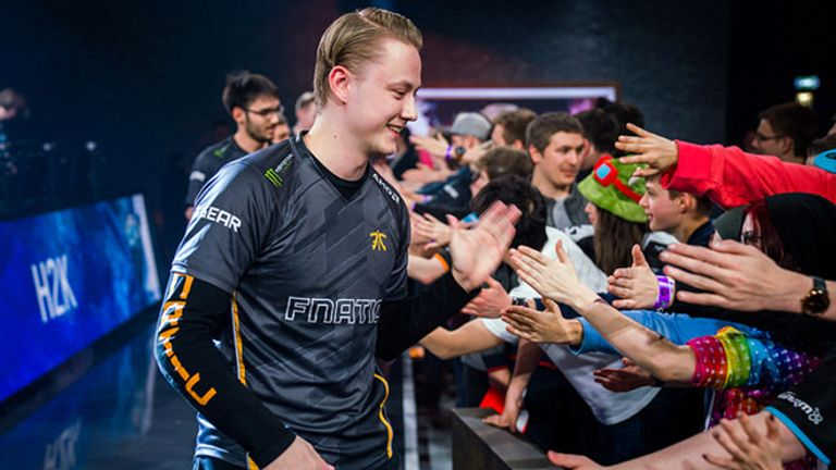 Rekkles is Fnatic's longest-standing member, having stayed in the team since he rejoined in 2015 (credit: Riot Games)