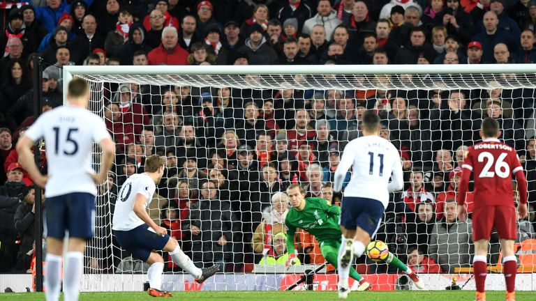 Kane scored his 100th Premier League goal with a last-minute equaliser against Liverpool