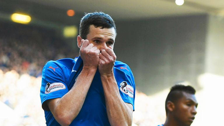 Jamie Murphy has scored three times for Rangers since joining the club on loan in January.