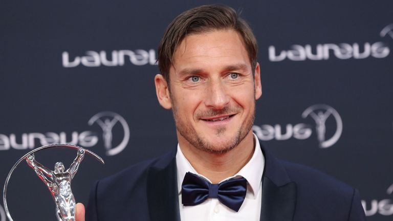 Francesco Totti played 786 times for Roma across 24 years