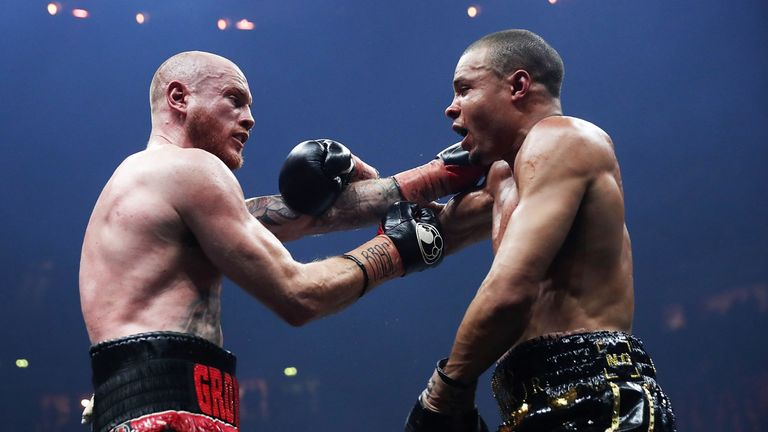 Groves completed a points victory over Eubank Jr in Manchester