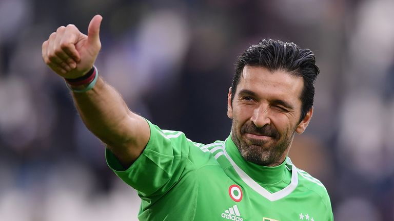 Buffon will leave Juventus at the end of the season after 17 years at the club