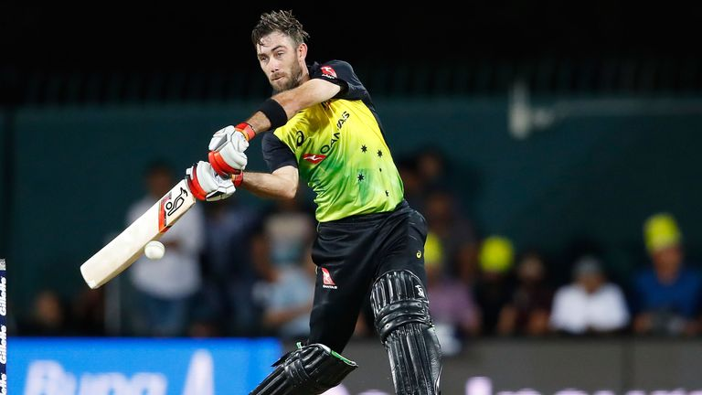 Glenn Maxwell scored a century against England in Hobart and then a brisk 39 in Melbourne