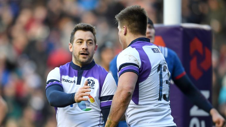 Greig Laidlaw inspired Scotland to victory at Murrayfield