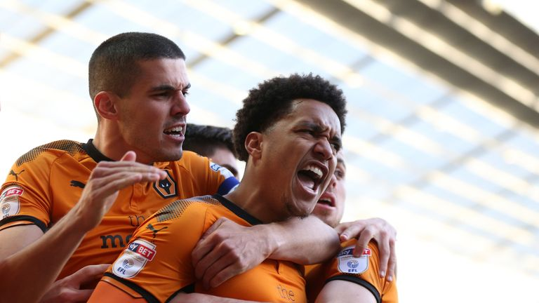 Helder Costa secured a point for Wolves