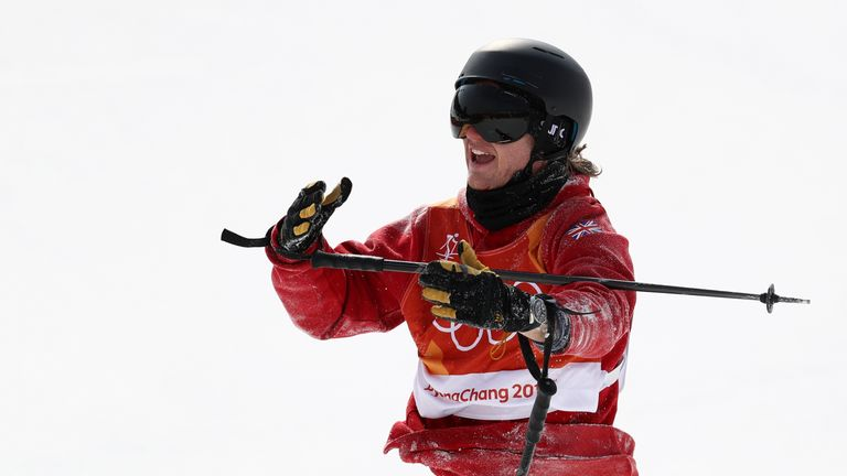 James Woods failed to medal for Team GB in Pyeongchang