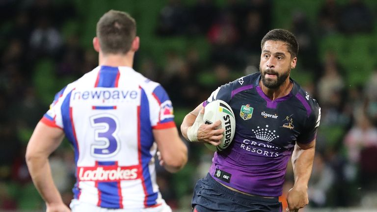 Jesse Bromwich has scored 183 tries in 299 appearances for Melbourne Storm