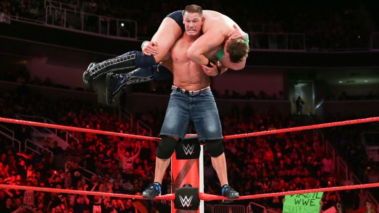 The Miz's loss to John Cena means he will enter the Elimination Chamber first