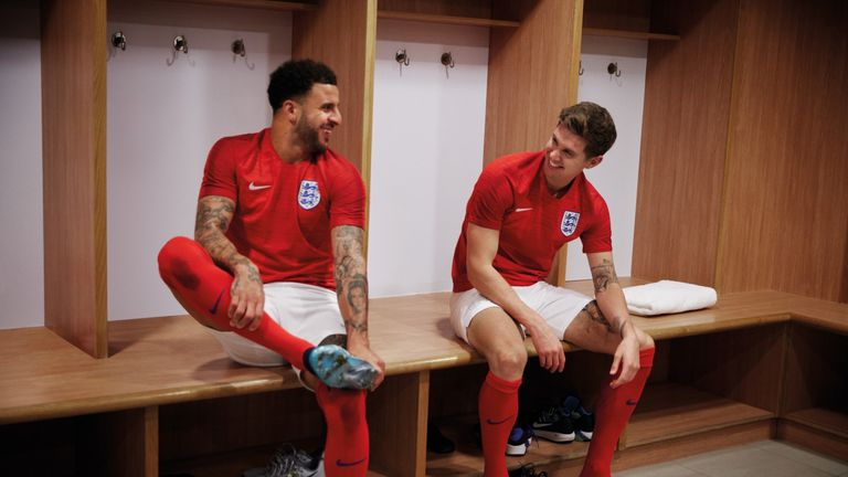 Kyle Walker and John Stones are England's most likely defensive options