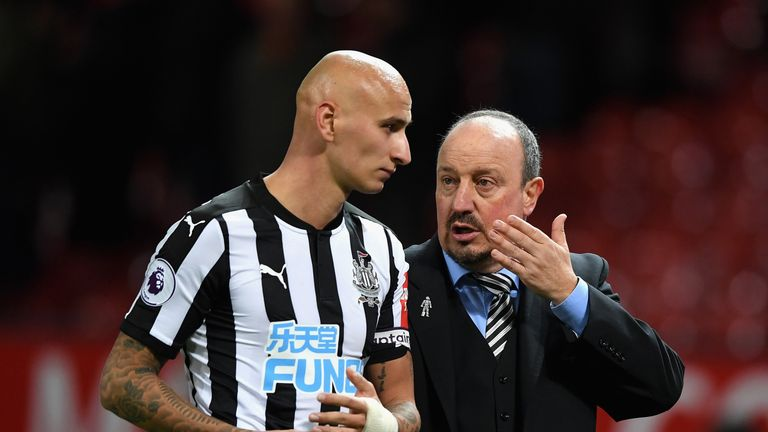 Jonjo Shelvey faces further assessment on his injured knee