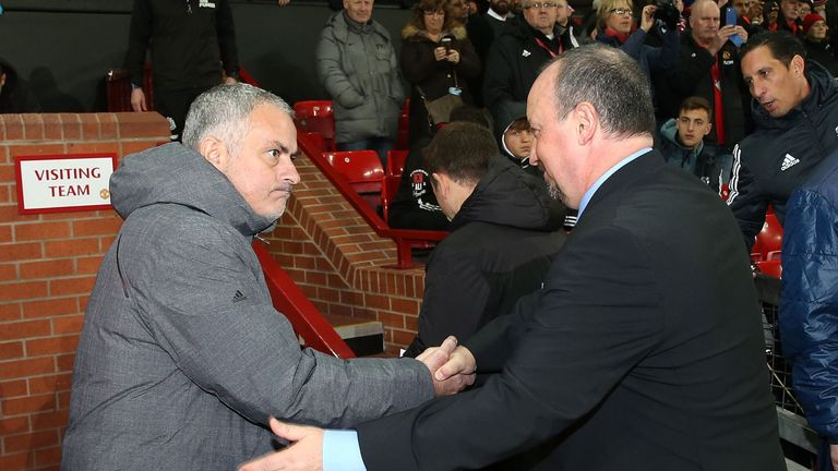 Mourinho says Rafa Benitez's Newcastle will be difficult to break down