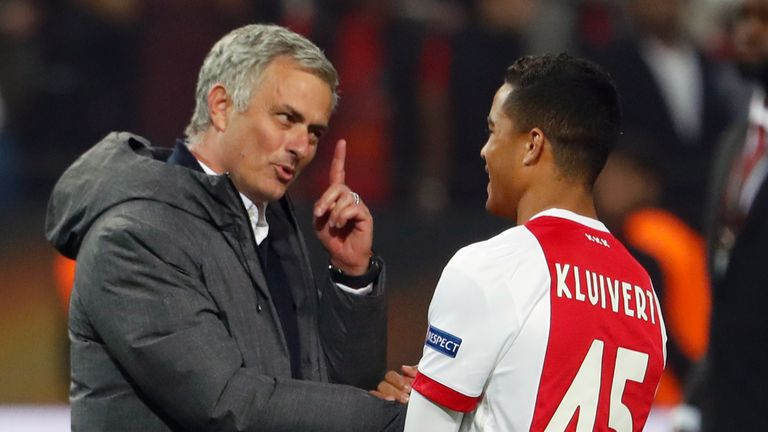 The youngster has been linked with Manchester United after impressing in the Eredivisie