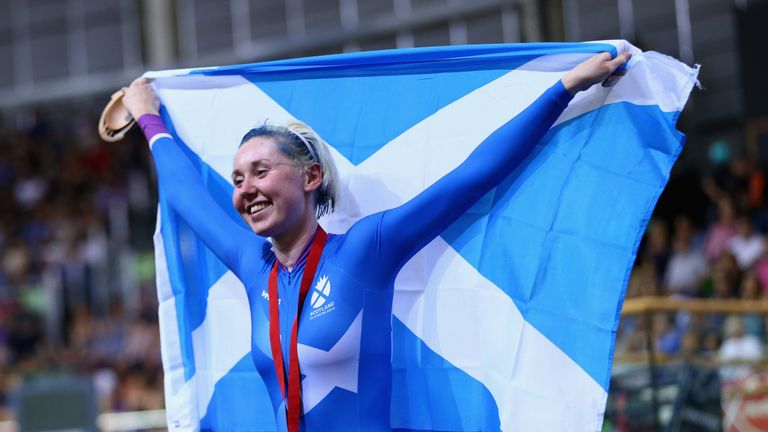 Katie Archibald will compete for Team Scotland again