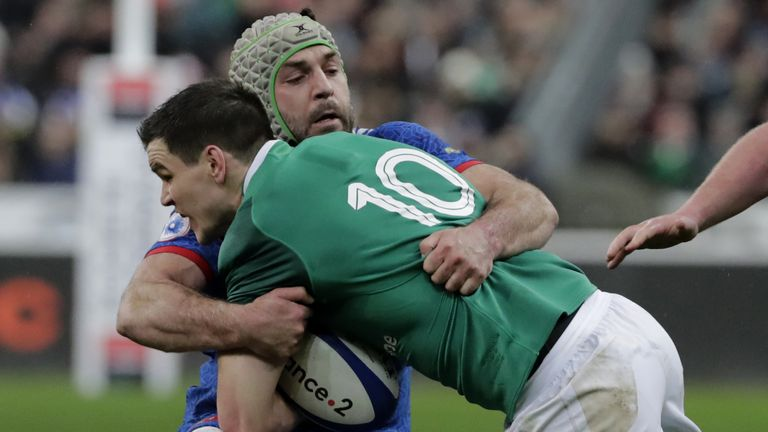 Sexton's penalty miss with 18 minutes remaining could have put Ireland nine points ahead