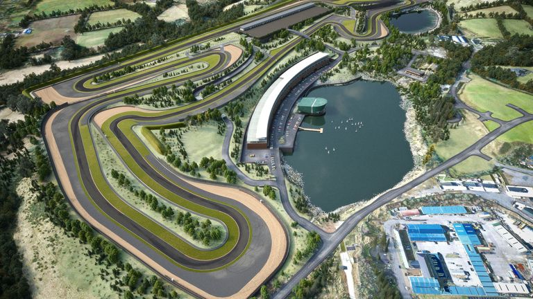 How the Lake Torrent Circuit will look