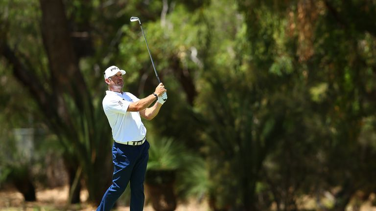 Westwood and Rumford both posted third-round 78s at Lake Karrinyup
