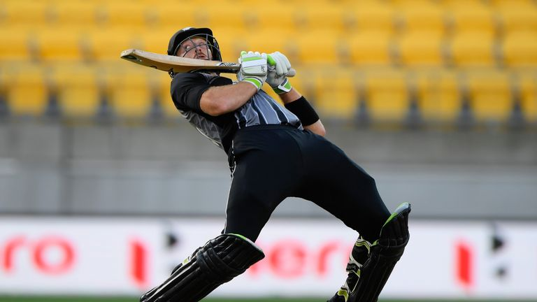 Guptill gave New Zealand a flying start at the Westpac Stadium