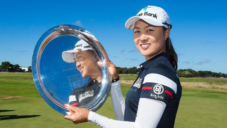 Australian Minjee Lee won the women's Vic Open this year