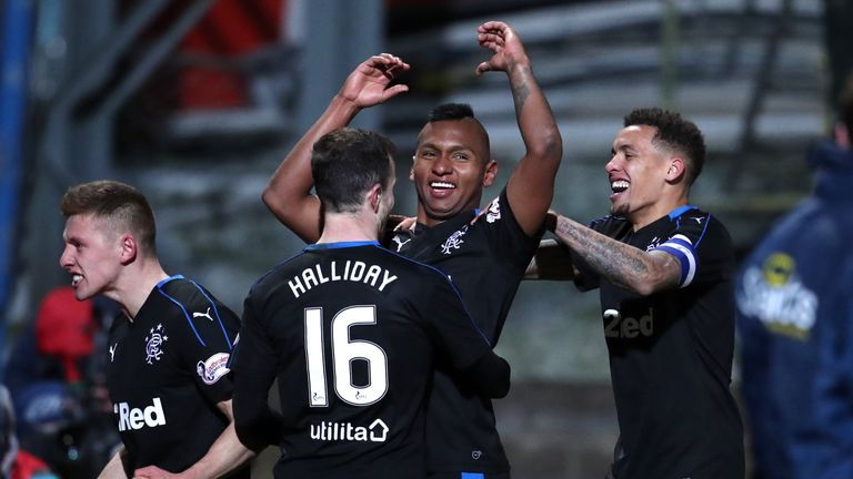Rangers cruised to victory at St Johnstone