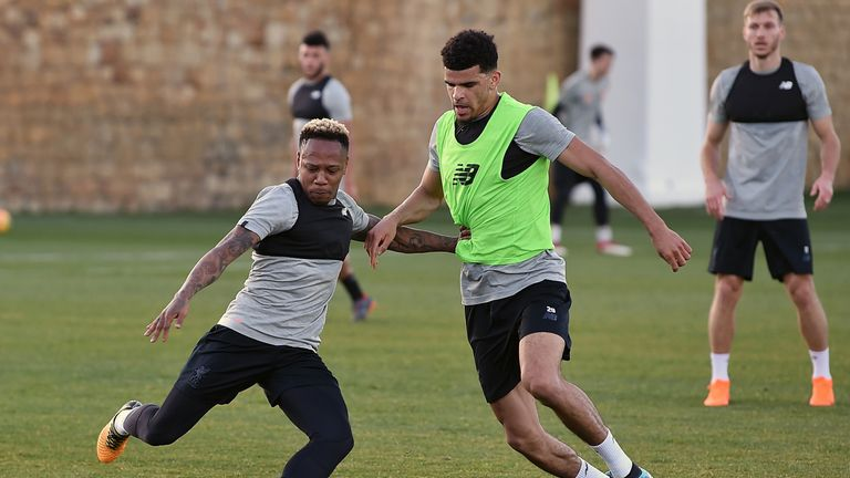 Nathaniel Clyne has resumed full training with Liverpool