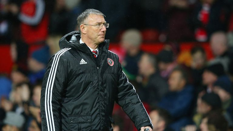 Nigel Adkins led Sheffield United to their worst finish since 1983 during his spell at the club