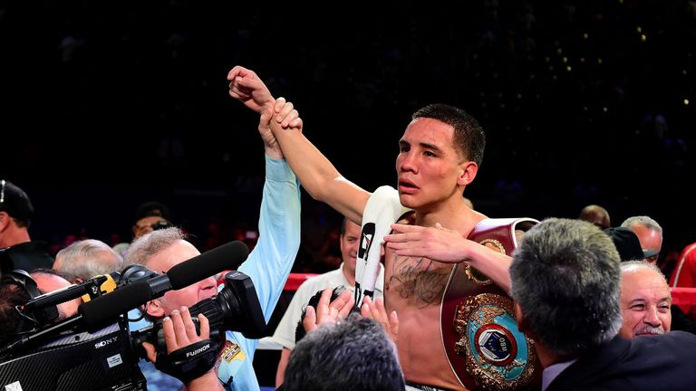 Oscar Valdez is the WBO featherweight champion