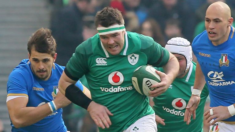 Ireland secured a heavy victory over Italy at the Aviva Stadium in week two