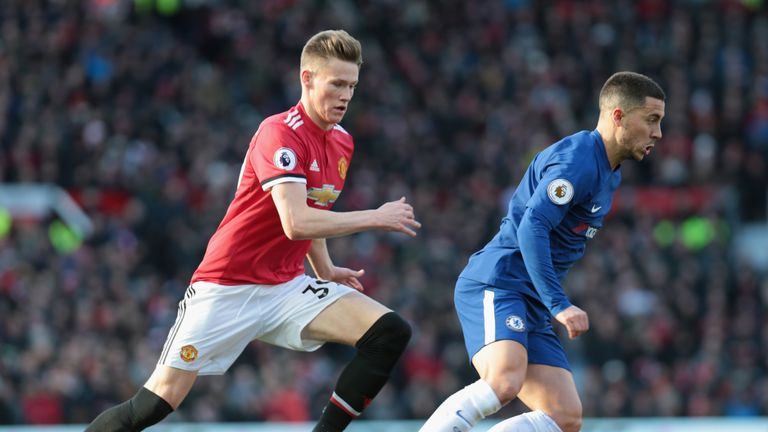 Jose Mourinho tasked Scott McTominay with tracking Eden Hazard