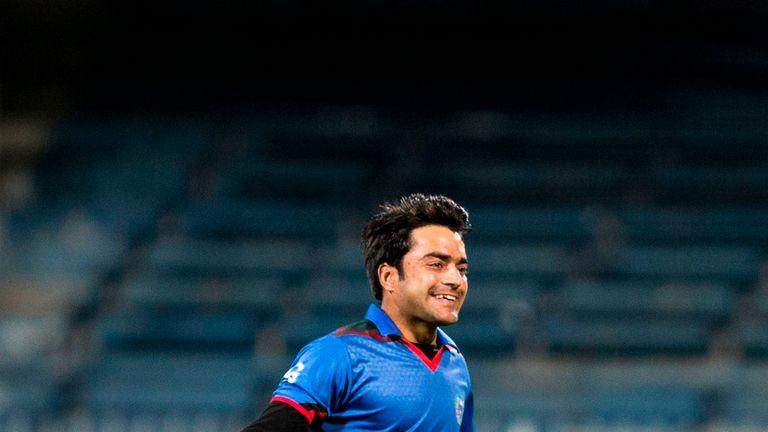 Afghanistan's teenage spinner sensation Rashid Khan was among the wickets against Nepal