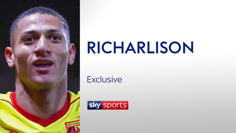 Richarlison has spoken exclusively to Sky Sports