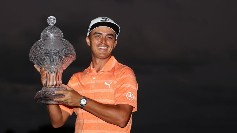 Fowler claimed a four-shot win in last year's Honda Classic