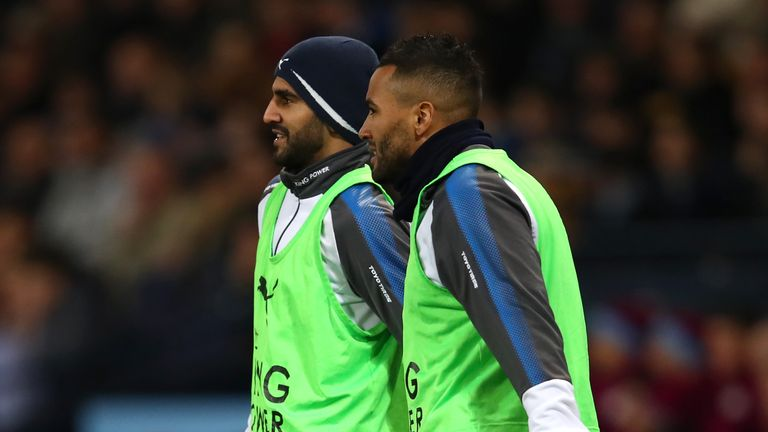 Danny Simpson says Leicester want to move on from Mahrez's absence