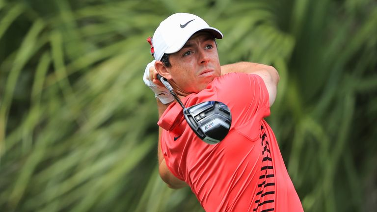 Rory McIlroy averages almost 320 yards per drive on the European Tour this season