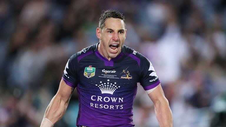 Melbourne Storm will be without full-back Billy Slater for the start of the season