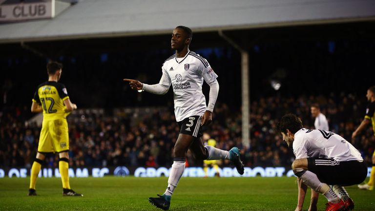 The Fulham youngster has been touted as a future full international for England