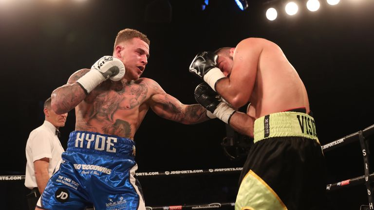 Sam Hyde completed a points victory on his return from injury
