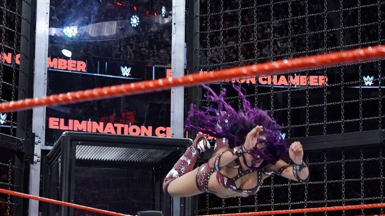 Banks came up short in the recent Elimination Chamber match