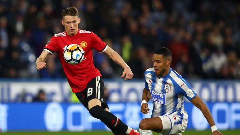 Scott McTominay has broken into the Man Utd team recently