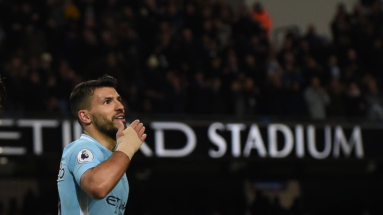 Martinez's style has been compared to Man City's Aguero