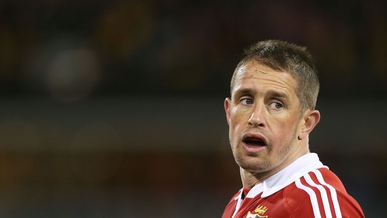 Shane Williams in action for the Lions