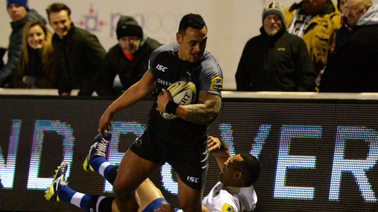 Newcastle moved up to fifth in the Premiership after beating Bath on Friday