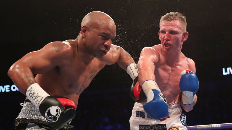Ted Cheeseman outpointed tough Carson Jones last time out