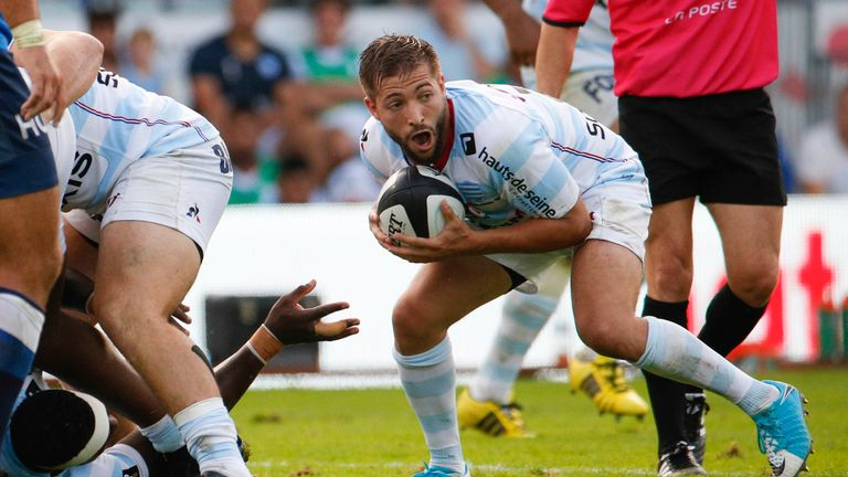 Racing 92's scrum-half Teddy Iribaren ran things in their win over La Rochelle