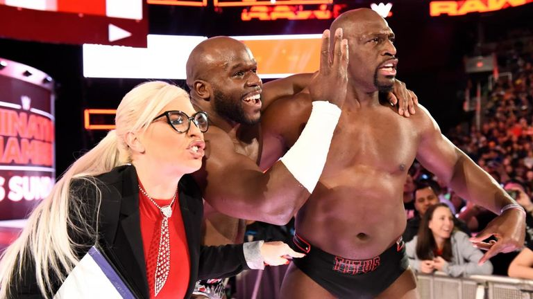 Titus Worldwide have not lost to Raw tag team champions The Bar since January 8