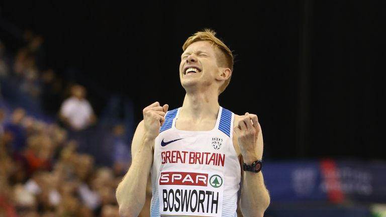 Tom Bosworth triumphed in the men's 5000m walk final