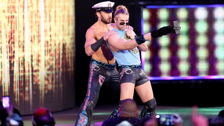 Tyler Breeze's tag team with Fandango has become one of the key features of SmackDown Live
