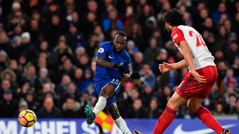 Sarri also has reservations on whether Victor Moses can adapt to his system